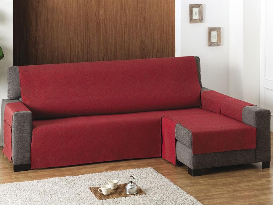 Funda sof chaise longue salvasofa tienda de fundas de - Funda de sofa chaise longue ...