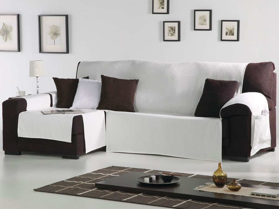Fundas sofa chais long tienda de fundas de sof para chaise longue - Funda de sofa chaise longue ...