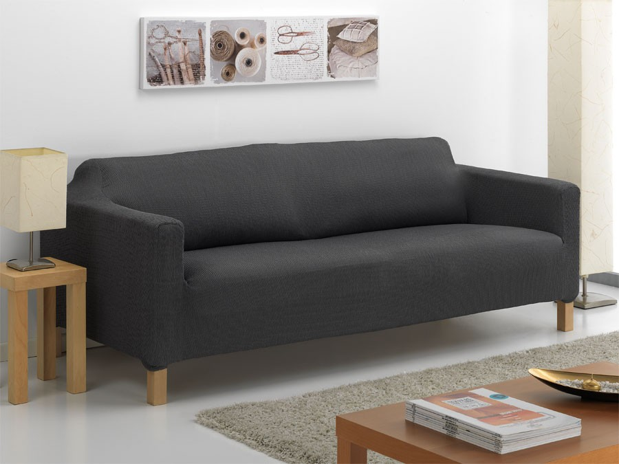 Fundas ajustables para sofas interesting fundas elsticas - Fundas de sofa ajustables ...