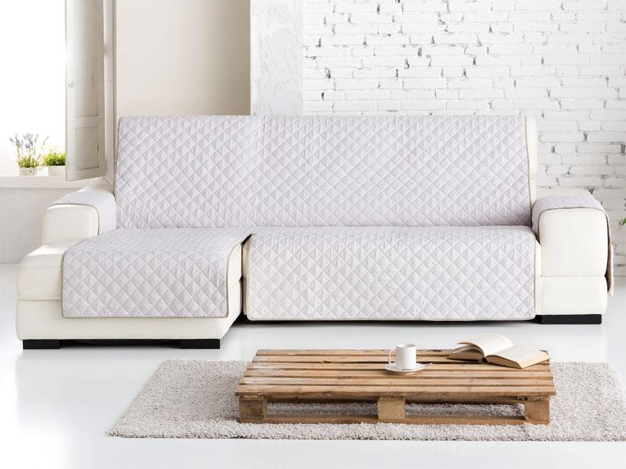 Funda chaise longue dual quilt fundas para sof tienda - Funda para chaise longue ...