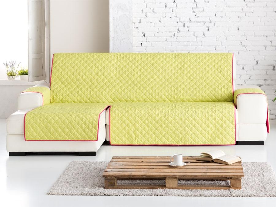 Funda chaise longue dual quilt fundas para sof tienda online - Funda para chaise longue ...