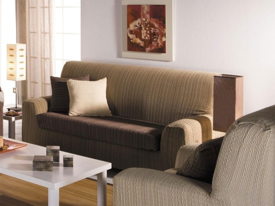 Fundas para sof s tejidos dise os coloridos modernos - Fundas elasticas para sofa ...