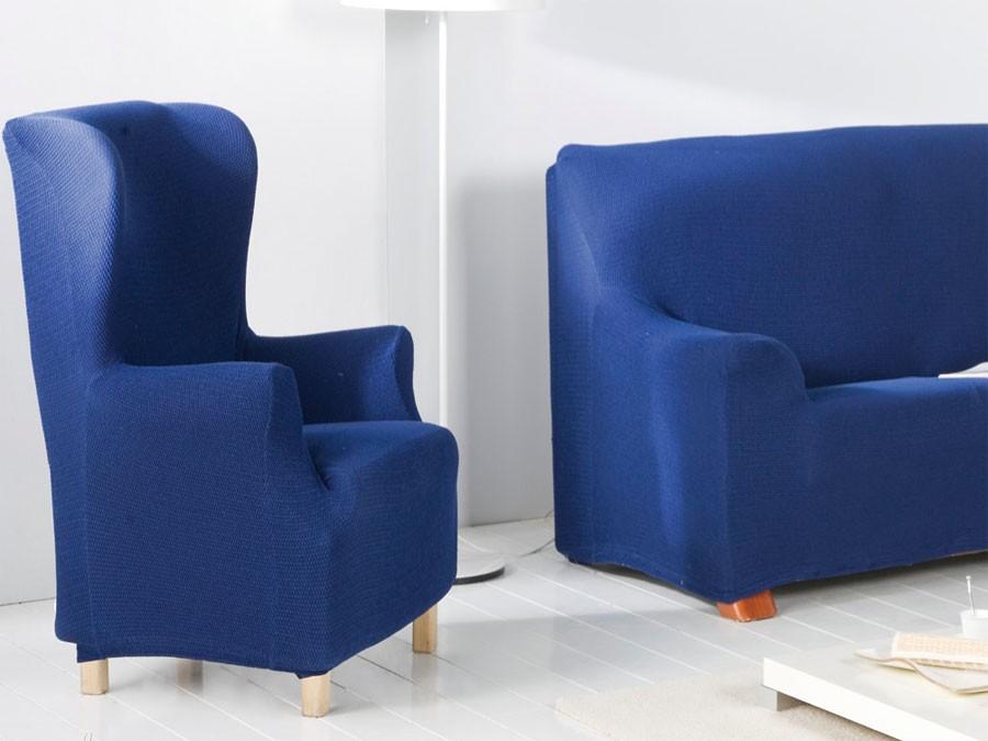 Funda sof el stica orejero opalo - Fundas elasticas para sillones ...