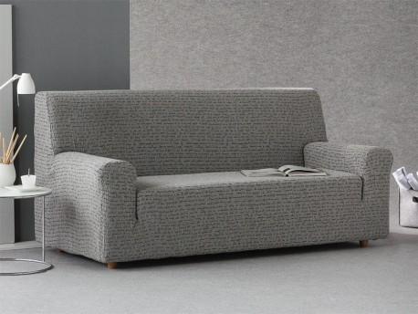 Funda sofá ajustable Letras
