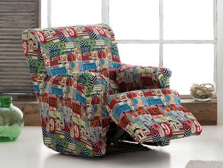 Funda sofá relax completa Etro