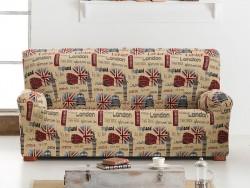 Funda de sofá elástica Oxford