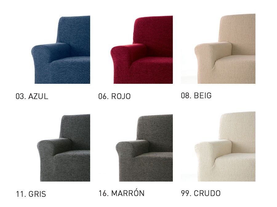 Fundas de sof clasicas modernas lisas tienda online - Fundas de sofa ajustables ...