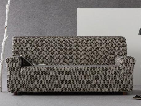 Funda sofá elástica Chevron