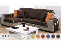 Funda sofá chaise longue Turia