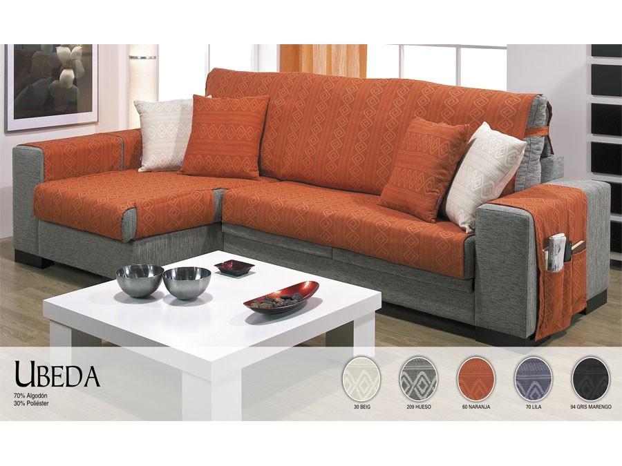 Tienda de fundas de sof para chaise longue ajustables - Fundas para sofas con chaise longue ...