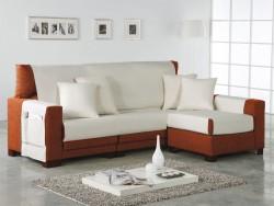 Funda de sofá chaise longue Beret