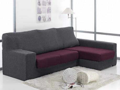 Funda chaise longue ajustable duplex daniela for Fundas elasticas chaise longue