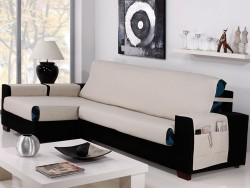 Cubre sofá chaise longue Banes