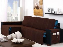 Funda de sofá chaise longue Kioto
