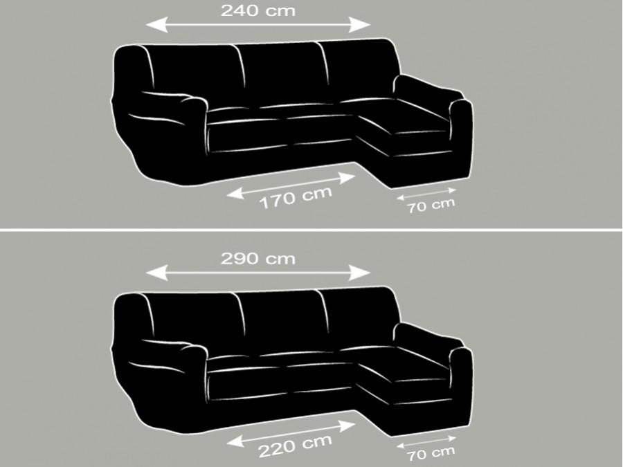 Comprar fundas de sof para el chaise longue funda cubre chaise longue - Donde comprar fundas de sofa ...