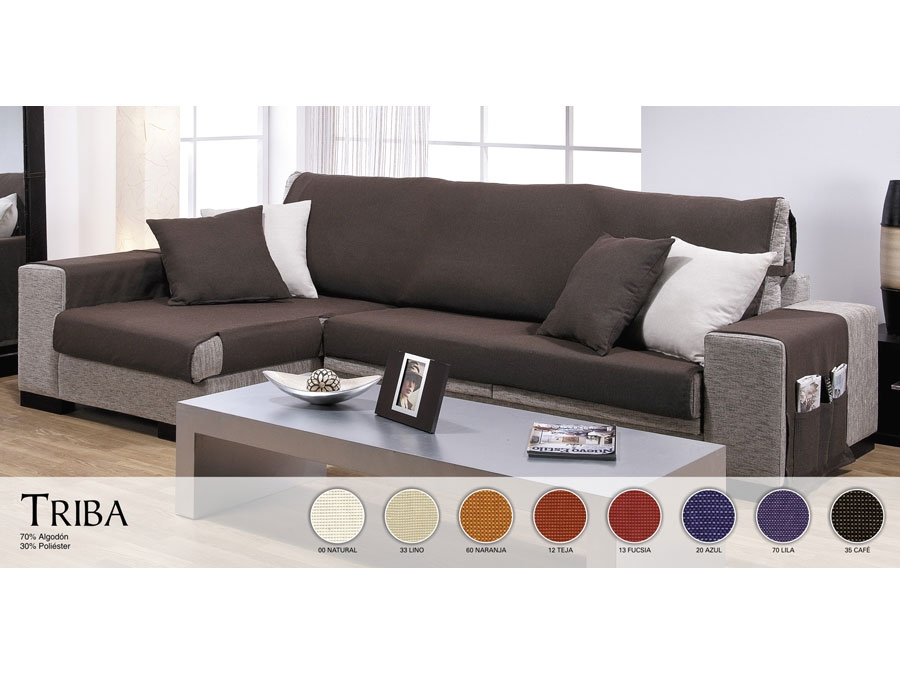Fundas de chaise longue universales cubre sof s chaise - Funda de sofa chaise longue ...