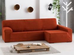 Funda sofá chaise longue bielástica Dorian