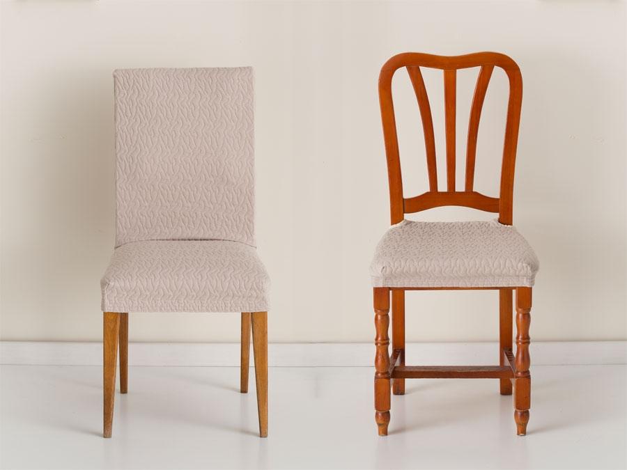 Fundas silla comedor ideas de disenos for Fundas sillas conforama