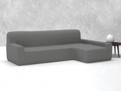 Funda sofá chaise longue ajustable Oslo