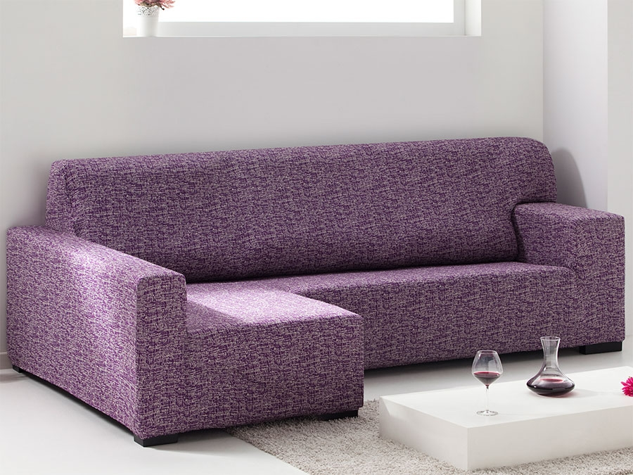Funda sofa chaise longue el stica valeta tienda online - Funda de sofa chaise longue ...