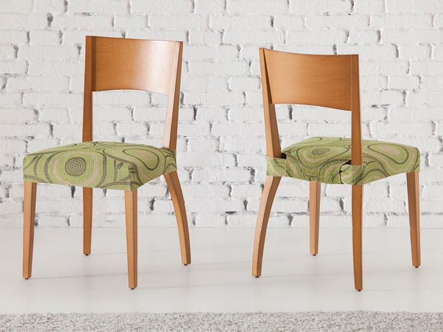 Funda silla y respaldo marbella tienda online fundas silla for Fundas sillas comedor carrefour