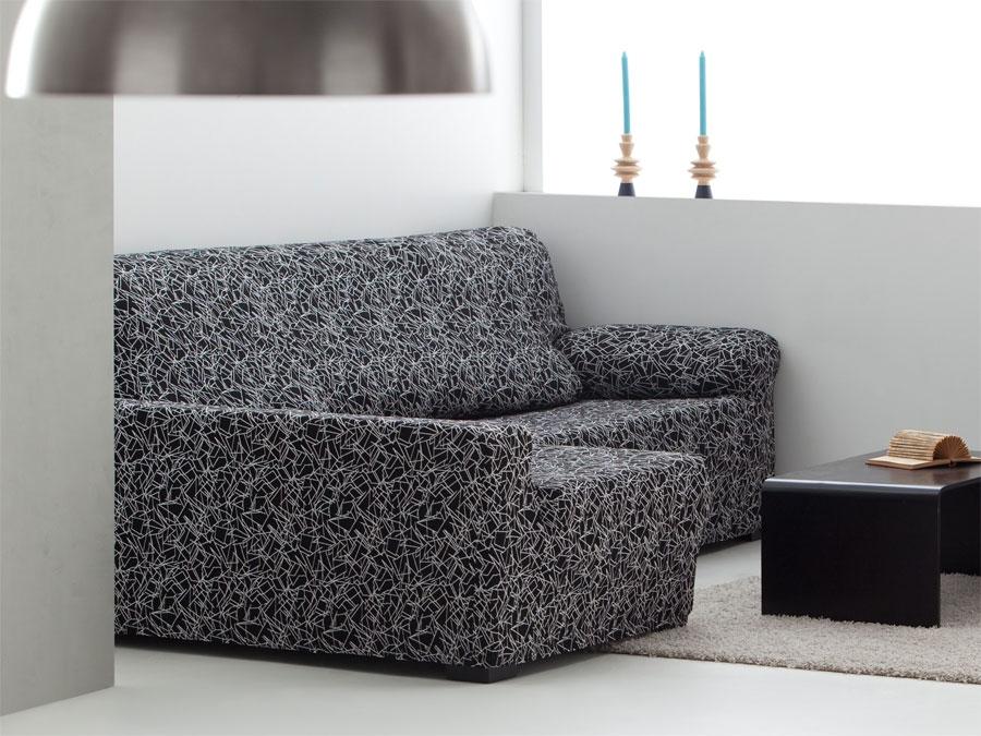 Funda chaise longue el stica sirocco tienda online - Funda elastica chaise longue ...